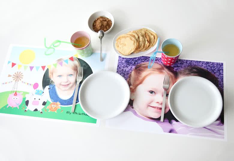 Papier-Tischsets gestalten