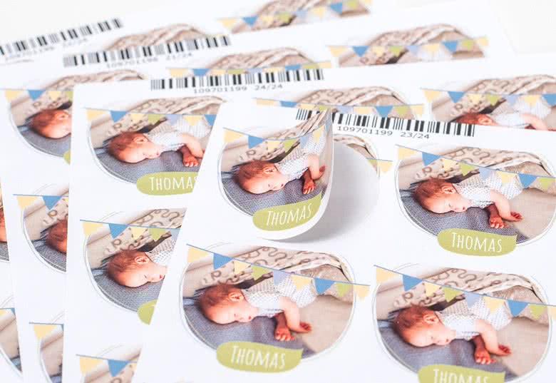 Maak Stickers voor bedankjes