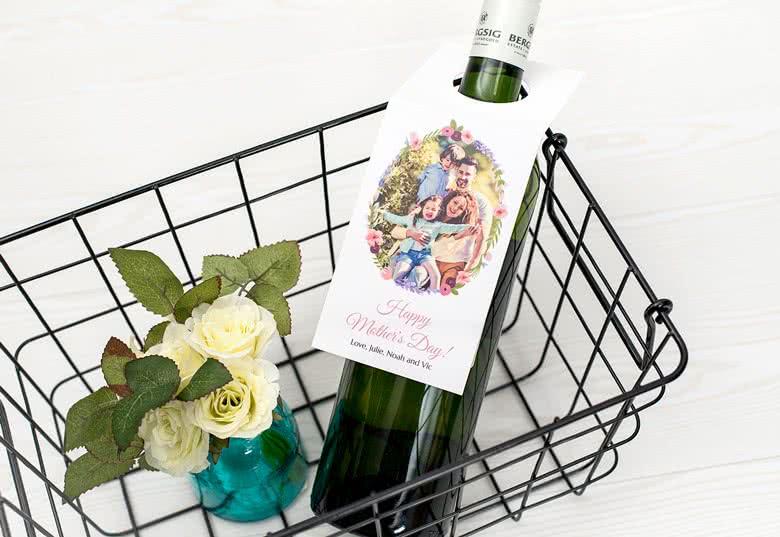 Verrassingskaartjes voor fles maken
