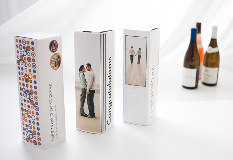Beställ dina Presentkartonger för Vin