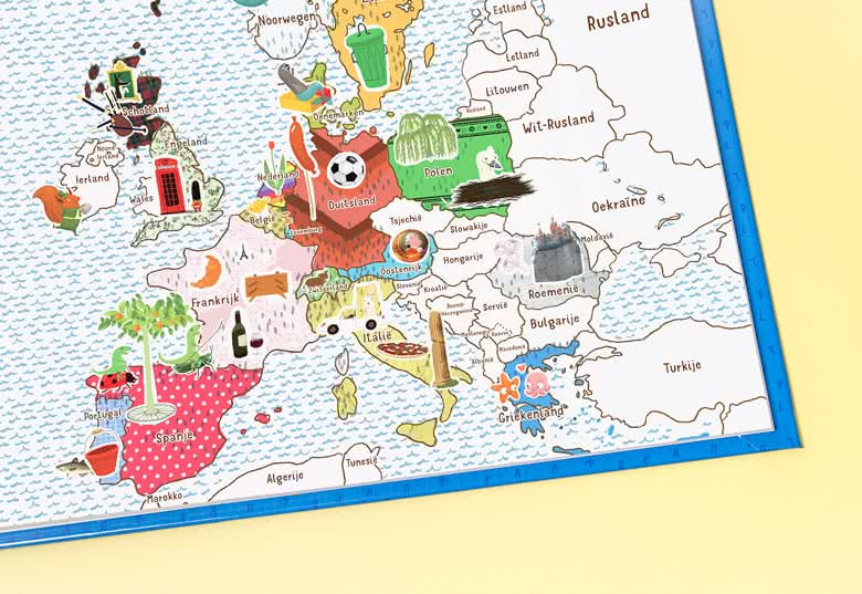 Maak een Reis door Europa Meisje