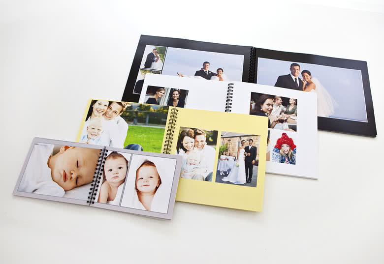 Fotoboek L liggend - spiraalbinding