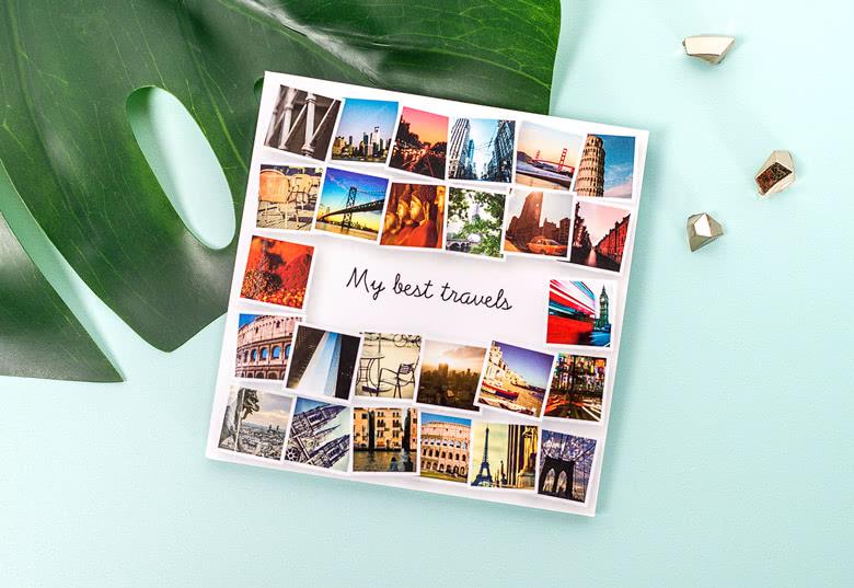 Fyrkantig Minifotobok från smartphoto med plats för 52 bilder c17e8edaa6547