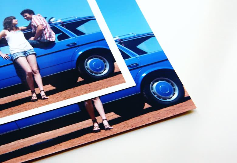 Commandez des tirages photo carrés