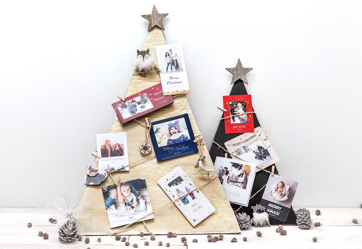 weihnachtskarten mit eigenem foto selbst gestalten. Black Bedroom Furniture Sets. Home Design Ideas