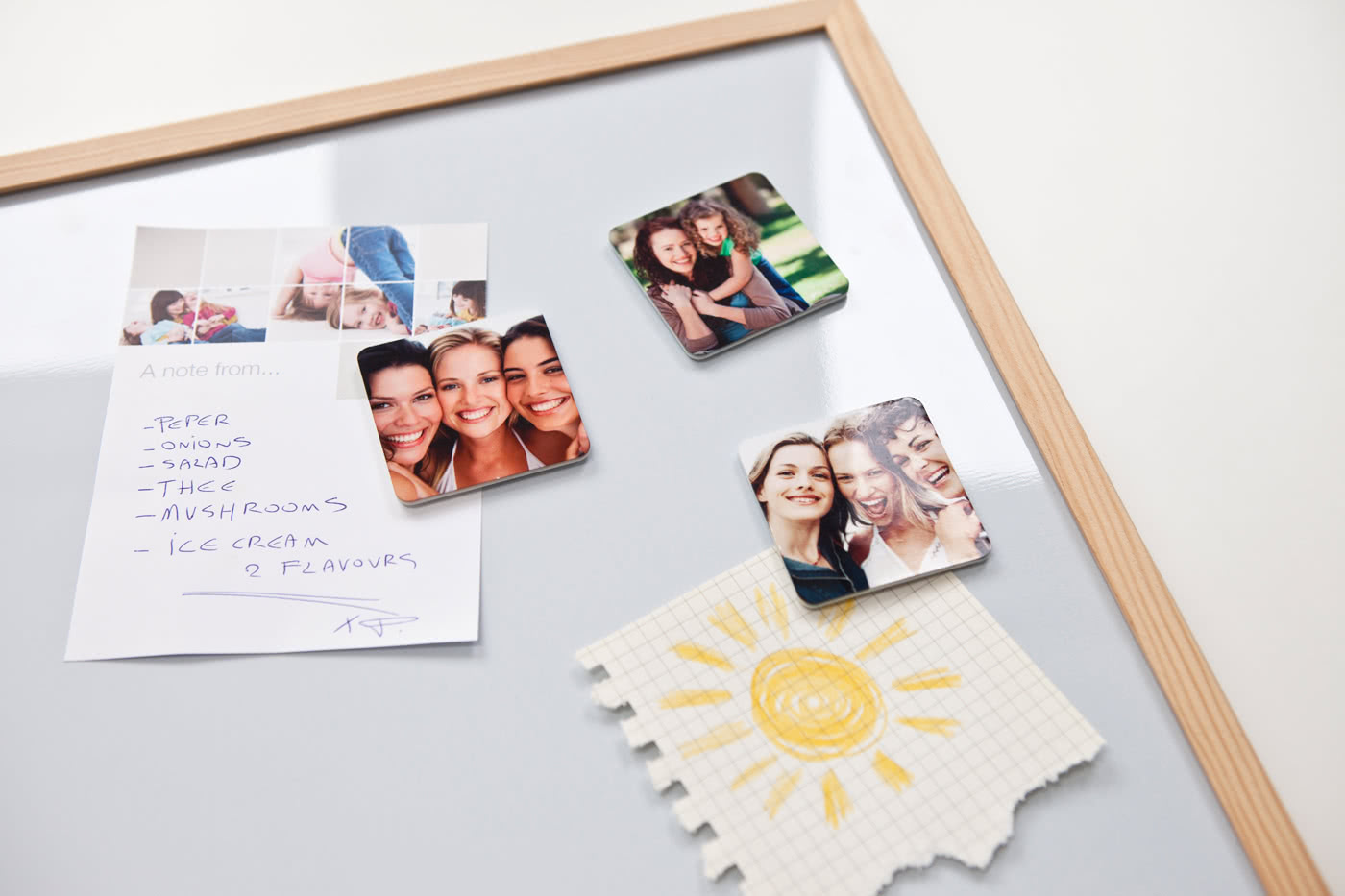 foto-magnete, magnete mit foto bedrucken - selbsthaftende magnete