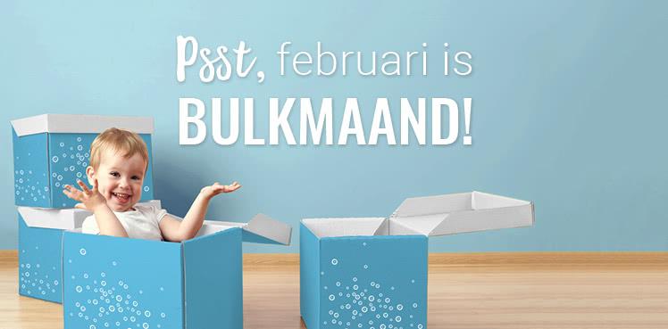 Actie van de maand februari - bulkmaand