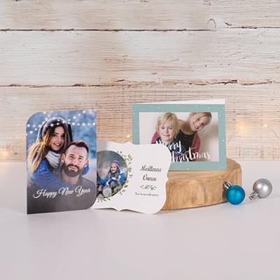 Cartes de voeux avec vos propres photos