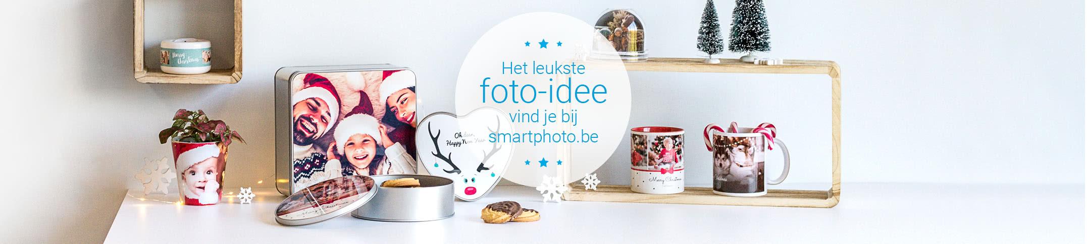 Kerstversiering met eigen foto's
