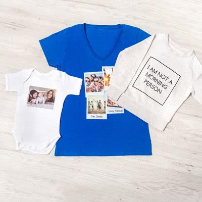 Vêtements personnalisés avec photo